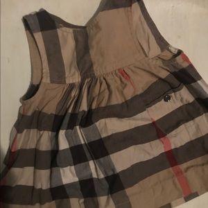 Burberry kid dress